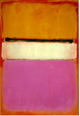 Mark Rothko, White Center