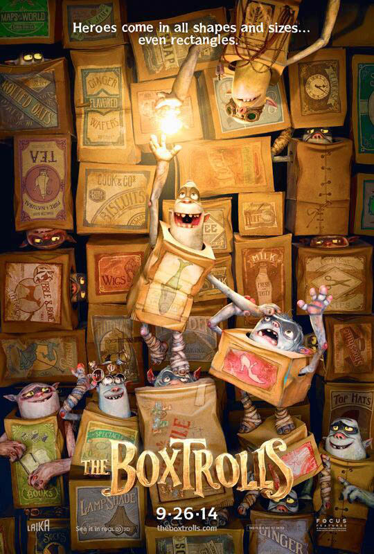 BoxTrolls: Process reference and flat out INSPIRATION