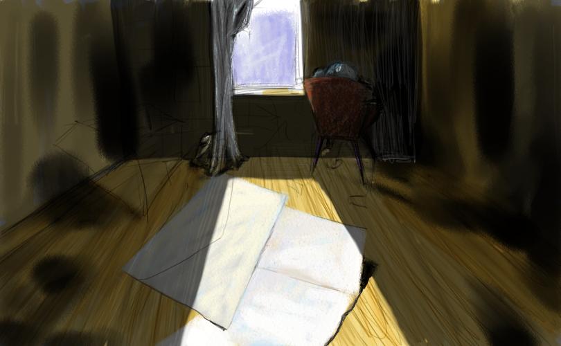 attic sketch